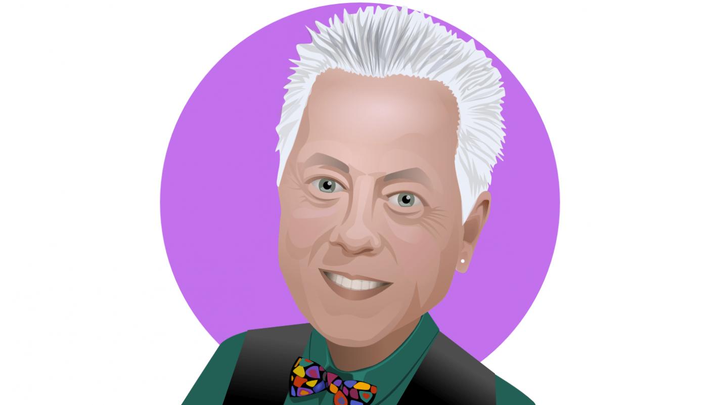Ken's avatar for social media