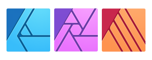 Affinity apps Designer Photo Publisher