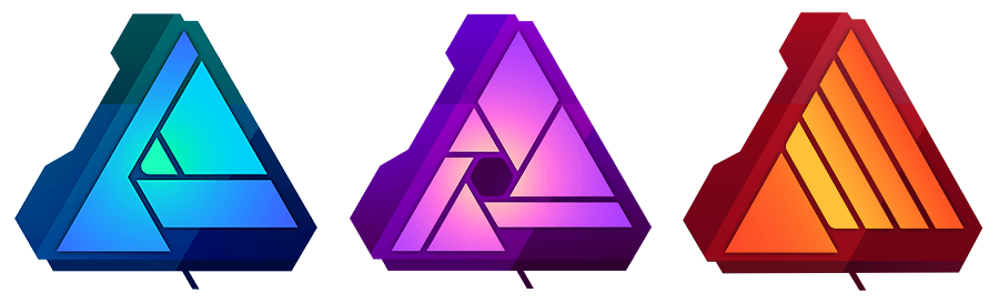 Affinity apps - Designer, Photo and Publisher